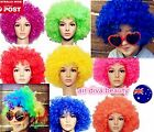 Children kid Lady Afro 70' 80' Disco Halloween Curly Costume Party Hair Wigs