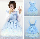 Lolita Dress Ladies Costume Strap Cute Women Sleeveless Skirt Japanese Cosplay