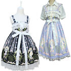 Lolita Maid Gothic Vintage Fancy Dress Women Party Halloween Cosplay Costume