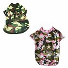 U.S. Army Green Camouflage T-Shirt For Dogs