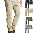 Detachable Men Outdoor Anti-UV Quick Dry Elastic Pants Hiking Stretch Trousers