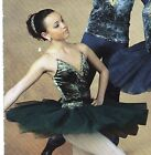 NWT Gold Gilded Short Ballet Costume Forest green Graduated Tutu nude inset