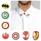 Buy 2 Get 1 Free Superhero Justice League The Avengers Lapel Pins Collar Tips