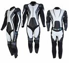 Spada Curve Leather Sport Race motorcycle suit 1 piece Black/Grey/white