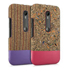 kwmobile  CORK CASE FOR MOTOROLA MOTO G (3 GENERATION) CASE NATURE BUMPER CASE