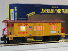 LIONEL AMERICAN FLYER S GAUGE UNION PACIFIC BAY WINDOW CABOOSE train 6-47971 NEW