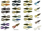 """Strike King 4 1/2"""" Rage Tail Magnum DB Structure Bug Rage Bug - Assorted Colors"""