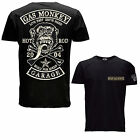 Gas Monkey Garage Official Fast n Loud T Shirt Patch Logo Black Tee