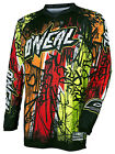 Oneal Adult Youth 2017 Motocross MX ATV Jersey Element Vandal S-2XL