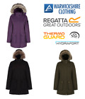 Regatta Womens Schima Parka Wind Waterproof Breathable Jacket 10-28 From £29.00