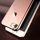 For APPLE IPHONE 7 7 PLUS CRYSTAL LUXURY CLEAR TPU SOFT HARD CASE COVER + FILM