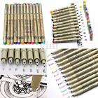 8/9/12x 0.5mm/1.5mm Paint Copic Graphic Sketch Drawing Markers Art Pens Set
