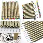 8/9/12x 0.5mm/1.5mm Paint Graphic Sketch Drawing Markers Art Pens Set