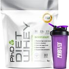PHD Nutrition Diet Whey 2KG / Diet Whey Protein / All Flavours / Fast Delivery