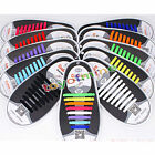 Easy No Tie Elastic Shoe Lace 100% Silicone Trainers Shoes Adult Kids Shoelaces