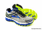 Brooks men Adrenaline GTS 15 running shoes size 10.5 -  White / Olympic / Lime