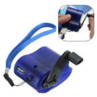 Hot Cell Phone Emergency Charger USB Crank Hand Manual Dynamo For MP4 Mobile PDA