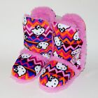 HELLO KITTY Tall Plush Sherpa-Lined Rubber Bottom Boot Bootie Slippers NWT  $28