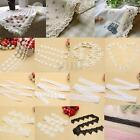 Vintage DIY Handcraft Embroidered Lace Edge Trim Wedding Ribbon Sewing Craft NEW