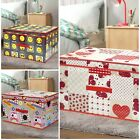 Large Kids Expression Nursery Faces Storage Box Toy Chest Tidy Clothes Laundry