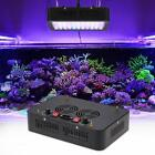 165W 55LED Aquarium Light Dimmable Full Spectrum for Reef Fish Coral Tank F P3Z2