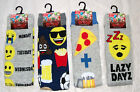 Mens Emoji Funstyle Socks (Ideal Gift ) Uk Size 6 -11  Euro 39 - 45.5  New