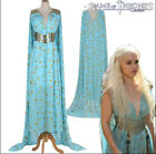Halloween Game Of Thrones Daenerys Targaryen Qarth Dress Party Cosplay Costume