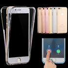 Shockproof 360° Silicone Protective Ultra Clear Case Cover For iPhone 6 6s 4.7''