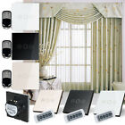 Crystal Panel Touch Screen Curtain Wireless Smart Switch with Remote Controller