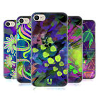 HEAD CASE DESIGNS NEON PATTERNS HARD BACK CASE FOR APPLE iPHONE 7 / iPHONE 8