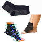 1 Pair Black Anti Fatigue Compression Foot Sleeve for Plantar Fasciitis Relief