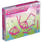 New Geomag Kids Panels Magnetic Construction Pink Set - 66 Pieces