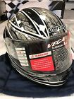 Vega Trak Kart Auto Racing Helmet Display Models