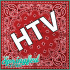 RED BANDANA Pattern HTV #1 Bandanna Heat Transfer Vinyl for Shirts & More!