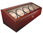 AXIS®  Luxury Automatic 8 Watch Winder New with 12 watch storage
