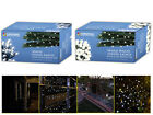 CHRISTMAS 400/600/1000 WARM/ WHITE STRING PARTY INDOOR OUTDOOR LIGHTS W CHASER
