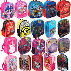 OFFICIAL KIDS CHILDRENS TODDLERS CHARACTER BACKPACK RUCKSACK LUNCH SCHOOL BAG