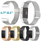 Milanese Stainless Steel Watch Band for Fitbit Charge 2 Bracelet Wrist Strap New
