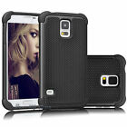 For Samsung Galaxy S5 i9600 Phone Case Hybrid Defender Rugged Rubber Hard Cover