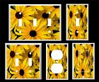 SUNFLOWER DAISY LIGHT SWITCH COVER PLATE