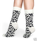 Happy Socks 1 Pair Artsy Ladies socks Beige-Black 36-40