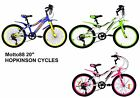 "20"" Youth 88 MOTO Kids Bicycle Bike Motobike Boys Girls 6 Speed Shimano Gears"