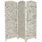 Oriental Furniture 4 ft. Tall Recycled Newspaper Room Divider