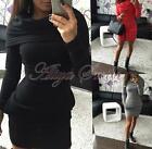 Women Fashion Hoodie Dress Ladies Bodycon Hoody Sweatshirt Tunic Jumper Sundress
