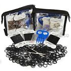 PLAITING KIT by Elico in, black,brown, white