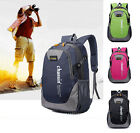 Women Men Waterproof Travel Backpack Hiking Camping Outdoor Rucksack Laptop Bag