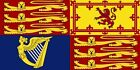 Royal Standard of Great Britain -coat of arms of the queen of the United Kingdom