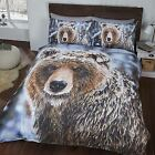 BIG BEAR DUVET COVER SETS SINGLE & DOUBLE AVAILABLE NEW ANIMAL WILDLIFE BEDDING