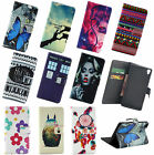 Blue Butterfly and ... Leather Wallet Stand Case Cover For Sony Xperia Z3