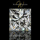 0.56Ct Princess Cut Loose Diamond GIA Certified D/VVS1 + Free Ring (2161526126)